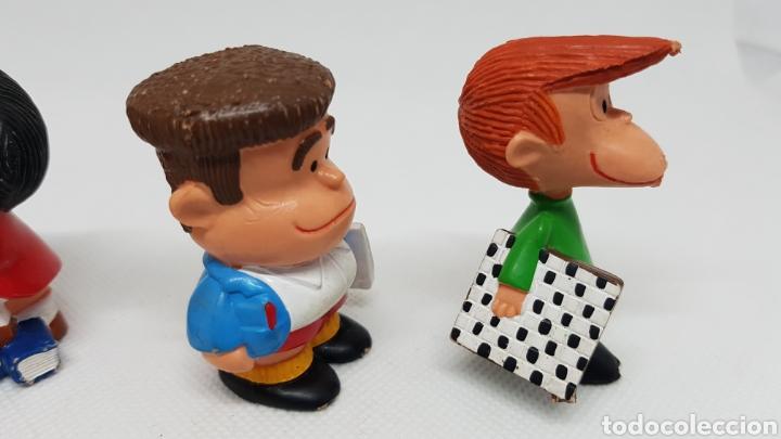 Figuras de Goma y PVC: 4 FIGURAS MAFALDA QUINO PORTUGAL - Foto 5 - 220299423