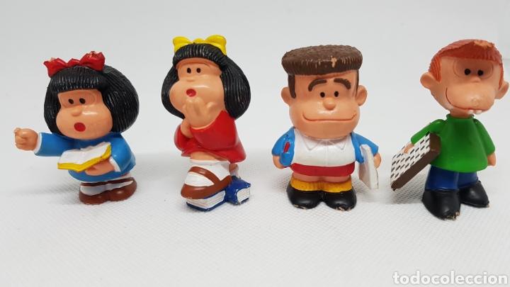 4 FIGURAS MAFALDA QUINO PORTUGAL (Juguetes - Figuras de Goma y Pvc - Otras)