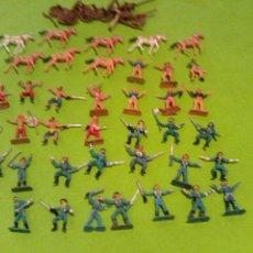 Figuras de Goma y PVC: LOTE MINI OESTE COMANSI. Lote 177713332