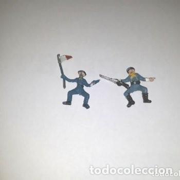 Figuras de Goma y PVC: Lote mini oeste Comansi - Foto 3 - 177713332