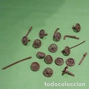 Figuras de Goma y PVC: Lote mini oeste Comansi - Foto 4 - 177713332