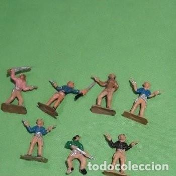 Figuras de Goma y PVC: Lote mini oeste Comansi - Foto 7 - 177713332