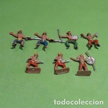 Figuras de Goma y PVC: Lote mini oeste Comansi - Foto 8 - 177713332
