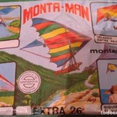 Figuras de Goma y PVC: SOBRE MONTA-MAN EXTRA 26 . Lote 177715815