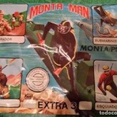 Figuras de Goma y PVC: SOBRE MONTA MAN EXTRA 3 . Lote 177715920