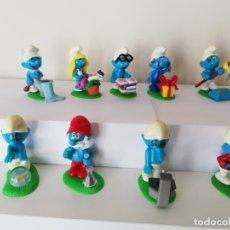 Figuras Kinder: COLECCION COMPLETA DE FIGURAS KINDER, PITUFOS LOCOS.. Lote 177720855