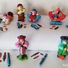 Figuras Kinder: COLECCIÓN COMPLETA FIGURAS KINDER SORPRESA. PIRATAS.. Lote 177722357