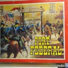 Figuras de Goma y PVC: FORT FEDERAL DE COMANSI CON CAJA MUY BUEN ESTADO,BARATO. Lote 177749694