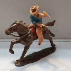 Figuras de Goma y PVC: REAMSA FIG. 356 Y CABALLO MUY ESCASA . Lote 177870198