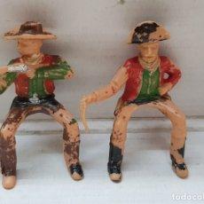 Figuras de Goma y PVC: REAMSA FIGURAS ASALTO A LA DILIGENCIA LOTE 2 . Lote 177872304