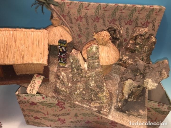 Figuras de Goma y PVC: CONJUNTO DIORAMA GRAN TAMAÑO CHOZAS PARA FIGURAS - Foto 3 - 177934902
