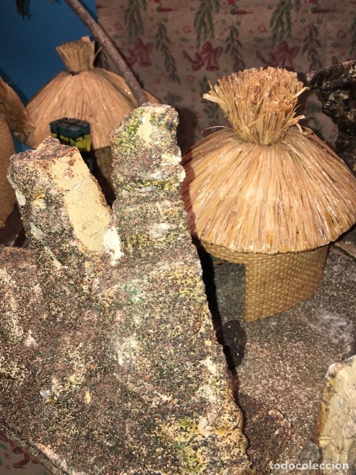 Figuras de Goma y PVC: CONJUNTO DIORAMA GRAN TAMAÑO CHOZAS PARA FIGURAS - Foto 5 - 177934902
