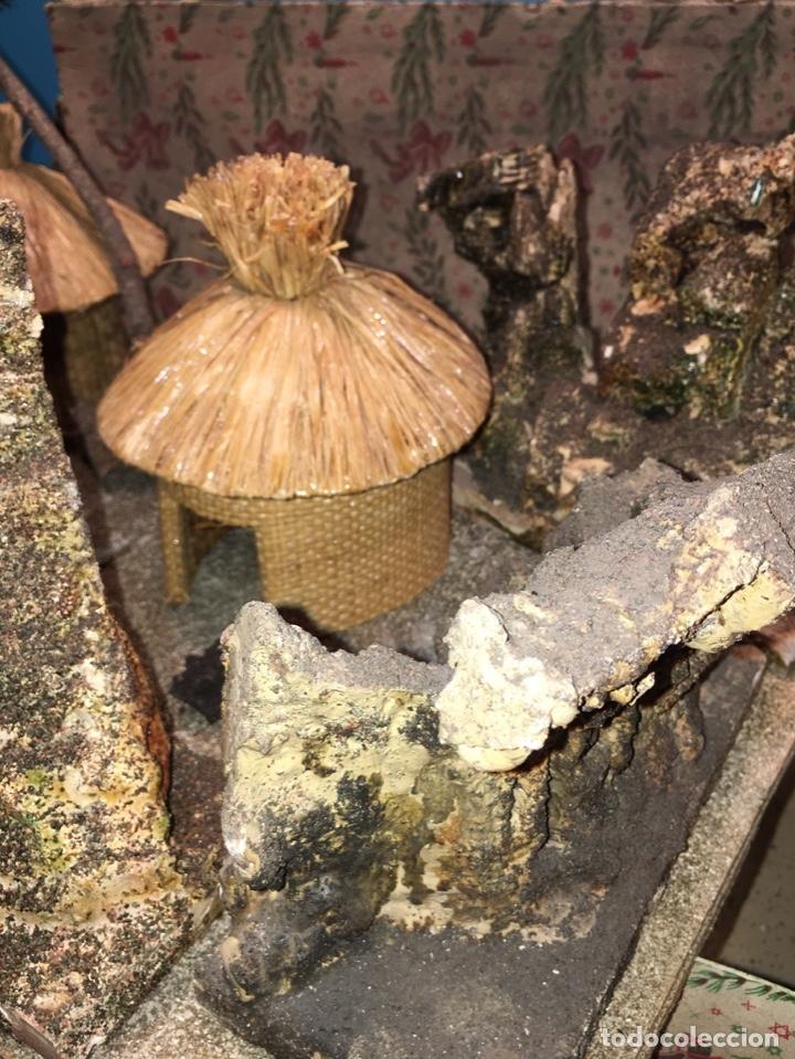 Figuras de Goma y PVC: CONJUNTO DIORAMA GRAN TAMAÑO CHOZAS PARA FIGURAS - Foto 6 - 177934902