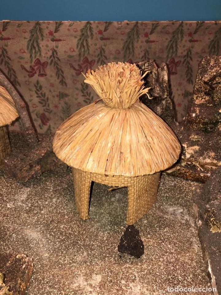Figuras de Goma y PVC: CONJUNTO DIORAMA GRAN TAMAÑO CHOZAS PARA FIGURAS - Foto 7 - 177934902