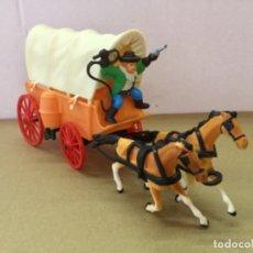 Figuras de Goma y PVC: CARRETA DEL OESTE. COMANSI. AÑOS 60. Lote 177946658