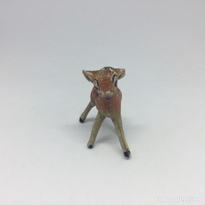 Figuras de Goma y PVC: BAMBI EN GOMA - WALT DISNEY - PECH HERMANOS - AÑOS 50 - Foto 3 - 178024773