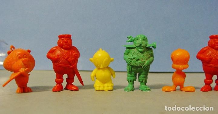 Figuras de Goma y PVC: 9 FIGURITAS PIRATAS Y WARNER DE DUNKIN. - Foto 2 - 178117175