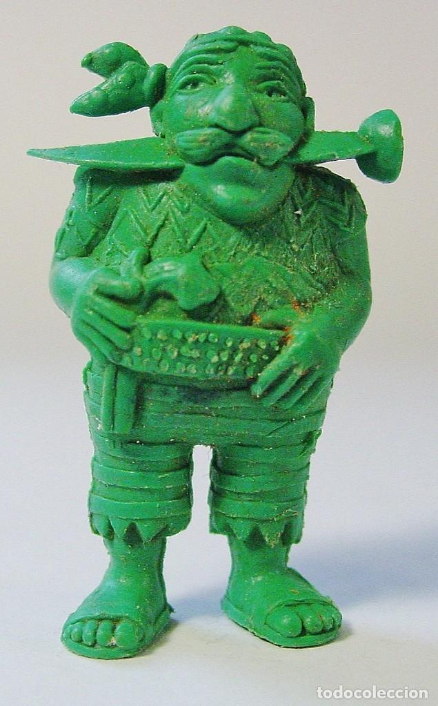 Figuras de Goma y PVC: 9 FIGURITAS PIRATAS Y WARNER DE DUNKIN. - Foto 4 - 178117175
