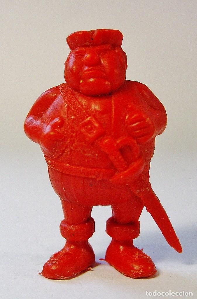 Figuras de Goma y PVC: 9 FIGURITAS PIRATAS Y WARNER DE DUNKIN. - Foto 6 - 178117175