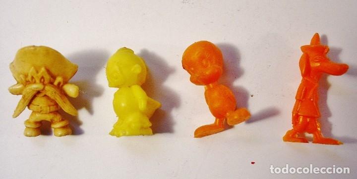 Figuras de Goma y PVC: 9 FIGURITAS PIRATAS Y WARNER DE DUNKIN. - Foto 12 - 178117175