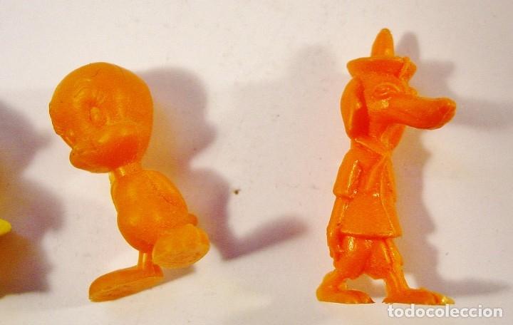Figuras de Goma y PVC: 9 FIGURITAS PIRATAS Y WARNER DE DUNKIN. - Foto 14 - 178117175