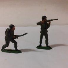 Figuras de Goma y PVC: FIGURAS SOLDADOS EN GOMA PECH,REAMSA,JECSAN. Lote 178263040