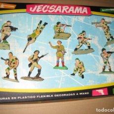 Figuras de Goma y PVC: CAJA CON FIGURAS PECH. Lote 178265020