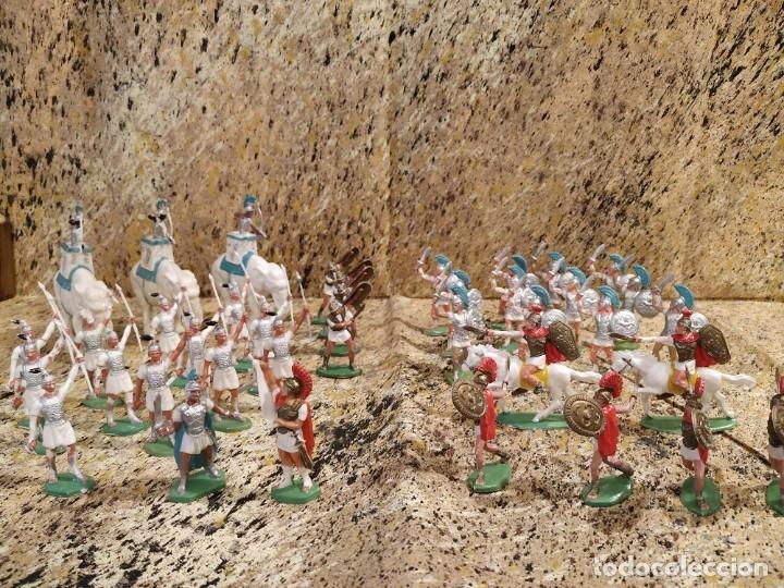 GRANDES BATALLAS ROMANOS Y CARTAGINESES (Juguetes - Figuras de Goma y Pvc - Otras)