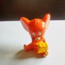 Figuras de Goma y PVC: JERRY EN GOMA DURA DE PVC PARA COLOCAR EN LAPIZ. Lote 178329027