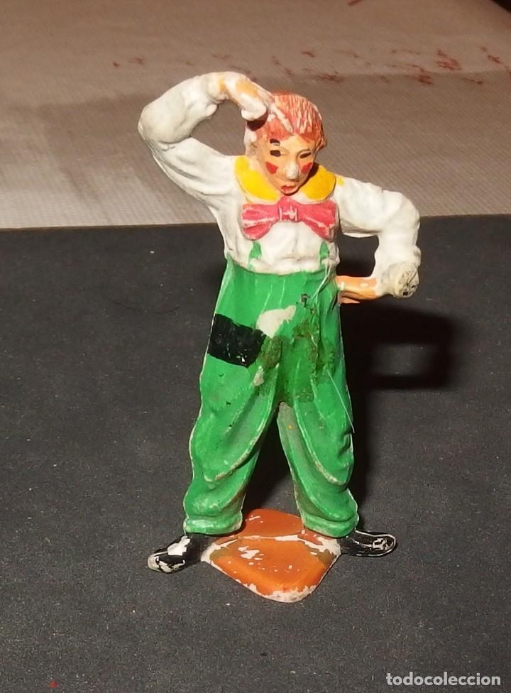 PAYASO DE PECH O ARCHER,GOMA,AÑOS 50 (Juguetes - Figuras de Goma y Pvc - Pech)
