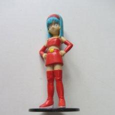 Figuras de Goma y PVC: FIGURA PVC BRA, HIJA DE BULMA Y VEGETA - DRAGON BALL, BOLA DE DRAGON - 12 CM 1996. Lote 178365717