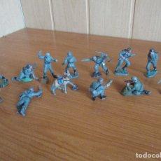 Figuras de Goma y PVC: LOTE 12 SOLDADOS ALEMANES + PERRO ( PECH , JECSAN , REAMSA , TEIXIDO , OLIVER , COMANSI , ETC). Lote 178382107