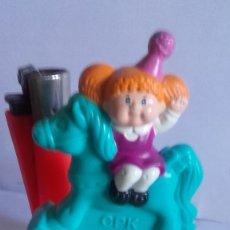 Figuras de Goma y PVC: FIGURA PVC / TREN DE CUMPLEAÑOS / MCDONALDS 1994 / CABBAGE PATCH KID. Lote 178389757