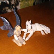 Figuras de Goma y PVC: HADA CON UNICORNIO (SCHLEICH). Lote 178556963