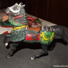 Figuras de Goma y PVC: CABALLO MEDIEVAL DE REAMSA,GOMA,AÑOS 50. Lote 178596256