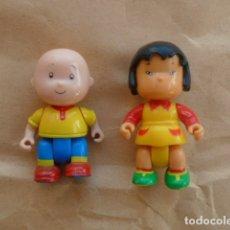 Figuras de Goma y PVC: FIGURAS CAILLOU TIPO PIN Y PON.. Lote 178630390