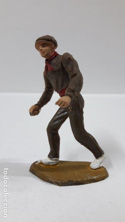 Figuras de Goma y PVC: MULILLERO O MOZO DE MULAS . REALIZADO POR TEIXIDO . AÑOS 60 - Foto 3 - 178715336