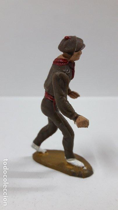 Figuras de Goma y PVC: MULILLERO O MOZO DE MULAS . REALIZADO POR TEIXIDO . AÑOS 60 - Foto 4 - 178715336