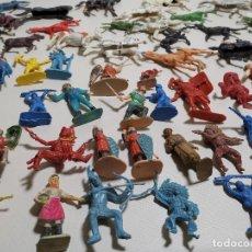 Figuras de Goma y PVC: LOTE DE 55 FIGURAS PLASTICO,JECSAN,LAFREDO,COMANSI,SOTORRES,PECH REF-DC. Lote 178769830