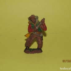 Figuras de Goma y PVC: ANTIGUO VAQUERO COW BOY EN GOMA DE LAFREDO - JECSAN, REAMSA, JECSAN. Lote 178775202