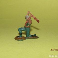 Figuras de Goma y PVC: ANTIGUO VAQUERO COW BOY DESMONTABLE EN GOMA PINTADA DE GAMA. Lote 178788067
