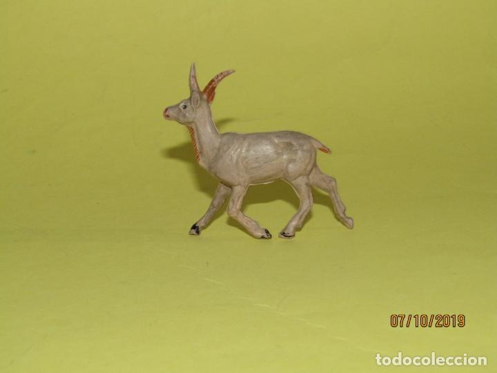 ANTIGUA GACELA EN GOMA PINTADA DE PECH SERIE FIERAS (Juguetes - Figuras de Goma y Pvc - Pech)