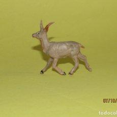 Figuras de Goma y PVC: ANTIGUA GACELA EN GOMA PINTADA DE PECH SERIE FIERAS. Lote 178788973
