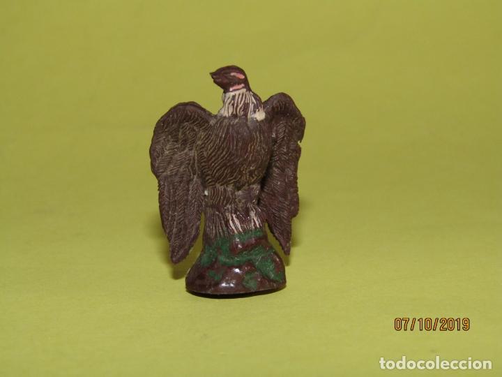 Figuras de Goma y PVC: Antiguo Buitre en Goma Pintada de PECH Hnos. - Foto 2 - 178789782