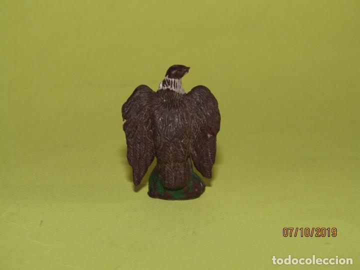 Figuras de Goma y PVC: Antiguo Buitre en Goma Pintada de PECH Hnos. - Foto 3 - 178789782