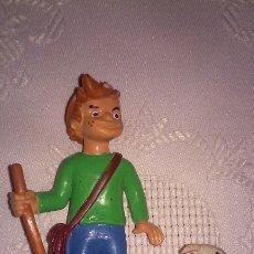 Figuras de Goma y PVC: FIGURA PEDRO CON OVEJA (SERIE HEIDI) TAURUS FILM-COMICS SPAIN 2. Lote 178799572