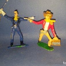Figuras de Goma y PVC: COMANSI - VAQUEROS - FIGURAS DEL OESTE. Lote 178800776