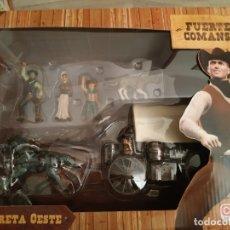 Figuras de Goma y PVC: FUERTE COMANSI CARRETA OESTE. Lote 178808863