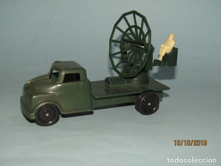 Figuras de Goma y PVC: Antiguo Camión Con Radar - Todo en Plástico Rígido Cristalino de MADEL - Foto 2 - 178936560