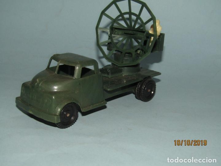 Figuras de Goma y PVC: Antiguo Camión Con Radar - Todo en Plástico Rígido Cristalino de MADEL - Foto 3 - 178936560